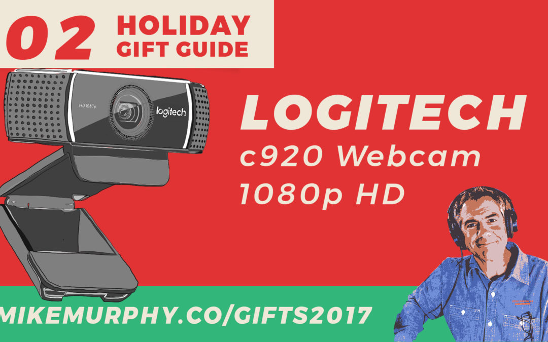Gift 02: Logitech c920 Webcam