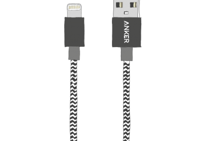 17: Anker USB Cable
