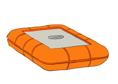 16: LaCie Rugged