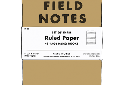 24: Field Notes 3-Pack